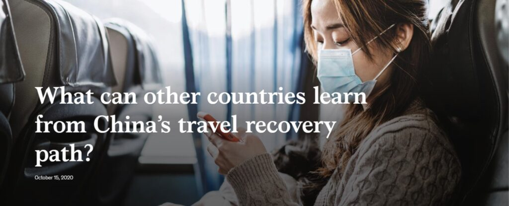 What can other countries learn from China's travel recovery path?